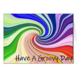 Have A Groovy Day Greeting Cards