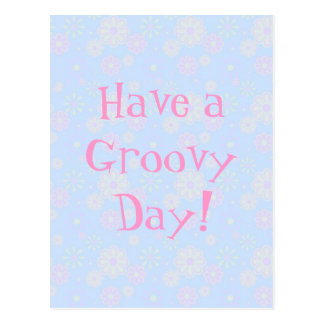 Have a Groovy Day Postcard