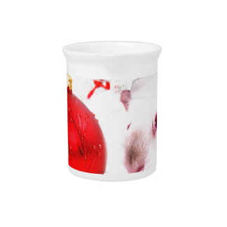 Have a Guinea Pig Christmas Pitcher