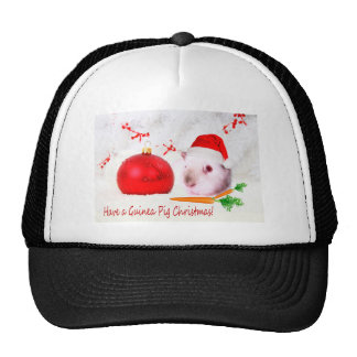Have a Guinea Pig Christmas Trucker Hat
