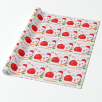 Have a Guinea Pig Christmas Wrapping Paper