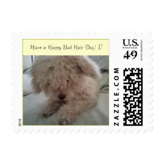 have a HAPPY bad hair day! Postage Stamp