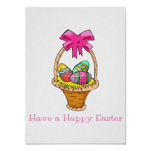 Have a Happy Easter (2) Poster