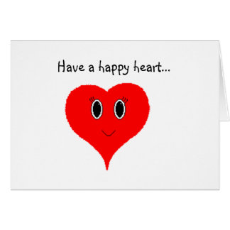 Have a Happy Heart Card
