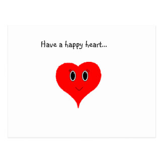 Have a Happy Heart Postcard