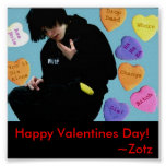 Have a Happy Zotz Valentine's Day! Print