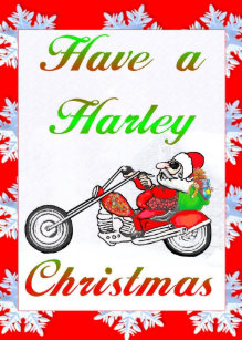 Harley Weihnachtsgrüße.Harley Christmas Gifts On Zazzle