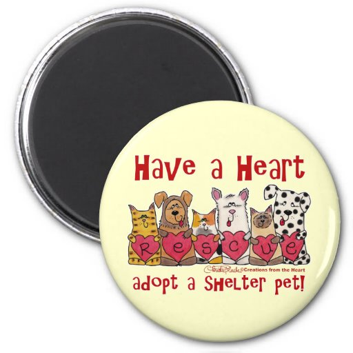 Have a Heart 2 Inch Round Magnet