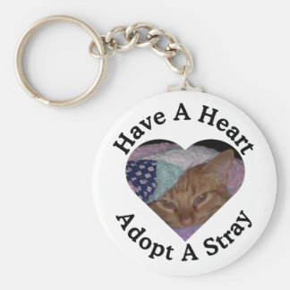 Have A Heart, Adopt A Stray Keychain
