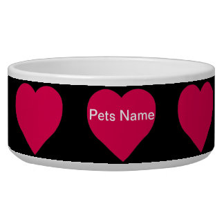 """Have A Heart Ceramic Pet Bowls"" Bowl"