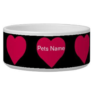 """""""Have A Heart Ceramic Pet Bowls"""" Bowl"""