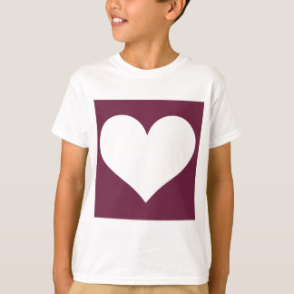 Have A Heart (Maroon/White) T-Shirt