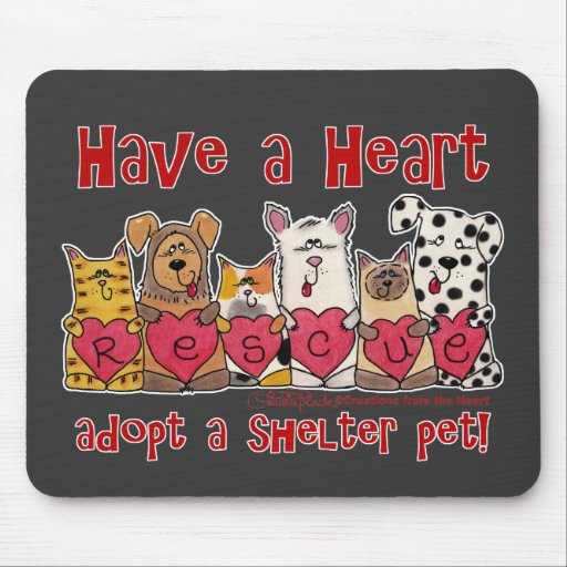 Have a Heart Mouse Pad