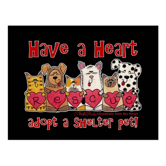 Have a Heart Postcard