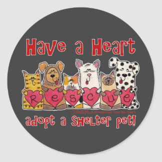 Have a Heart Classic Round Sticker
