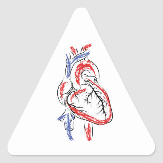 Have a Heart Triangle Sticker