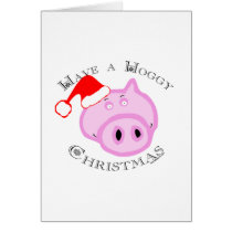 Have a Hoggy Christmas! Card