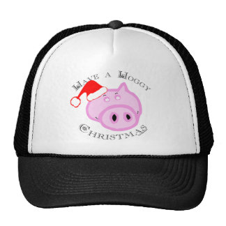 Have a Hoggy Christmas! Trucker Hat