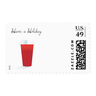 Have A Holiday. Stamp