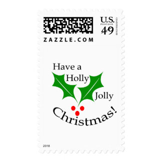 Have a Holly Jolly Christmas! Stamp