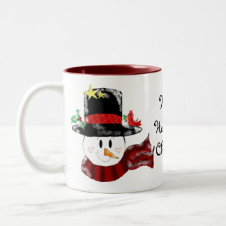 Have a Holly Jolly Christmas Two-Tone Coffee Mug