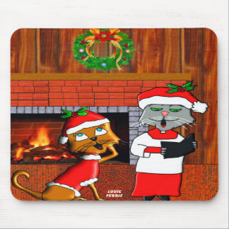 Have A Holly-Molly Christmas Mousepad