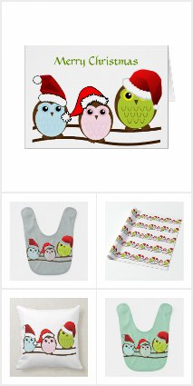 Have a Hoot of a Christmas - Owl XmasCollection