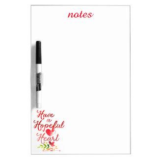 Have a Hopeful Heart Dry-Erase Board