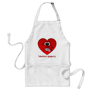 Have a Juicy Raspberry for Valentine's Adult Apron