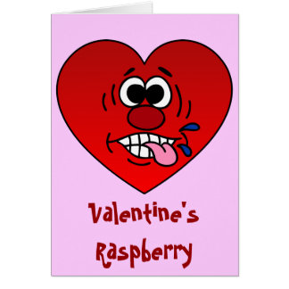Have a Juicy Raspberry for Valentine's Card