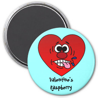 Have a Juicy Raspberry for Valentine's Refrigerator Magnet