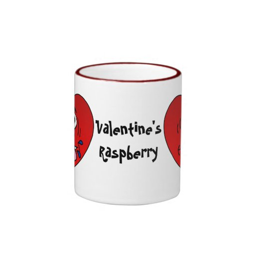 Have a Juicy Raspberry for Valentine's Mug