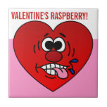 Have a Juicy Raspberry for Valentine's Ceramic Tiles