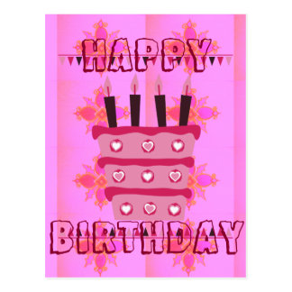 Have a Lovely Happy Birthday Have a Lovel Postcard