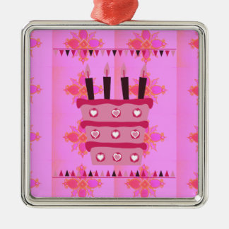 Have a Lovely Happy Birthday Metal Ornament