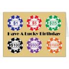 Have A Lucky Birthday Card