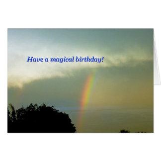 Have a magical birthday! 5x7 card