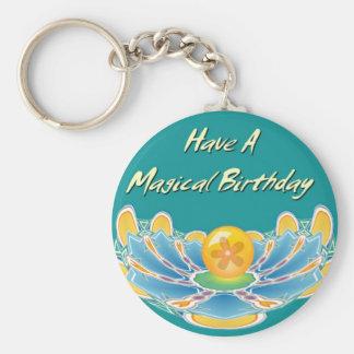 Have A Magical Birthday Keychain