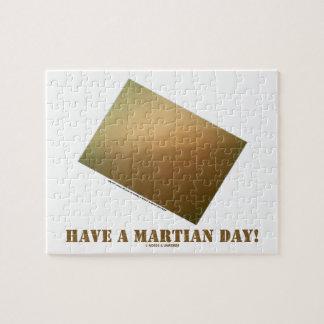 Have A Martian Day! (Martian Landscape Curiosity) Jigsaw Puzzle