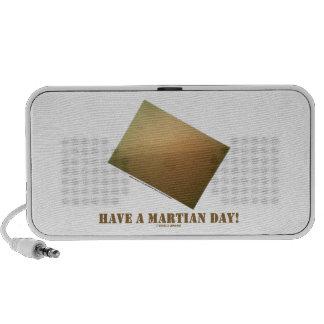Have A Martian Day Martian Landscape Curiosity Mini Speakers
