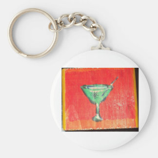 Have a Martini A Hole Basic Round Button Keychain