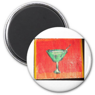 Have a Martini A Hole Fridge Magnets