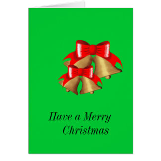 HAVE A MERRY CHRISTMAS CARD