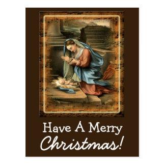 Have A Merry Christmas Custom Postcard