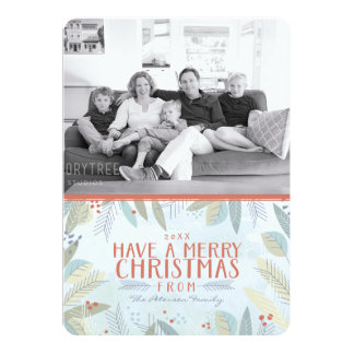 Have A Merry Christmas Photo Card