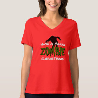 Have A Merry ZOMBIE Christmas Funny T-Shirt