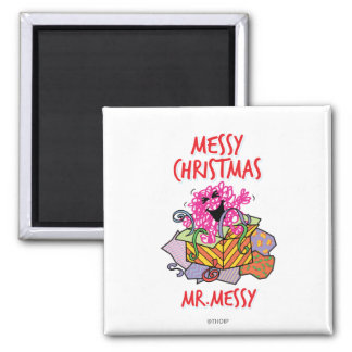 Have A Messy Christmas Magnet