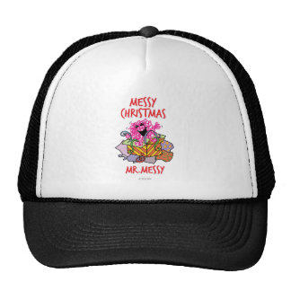 Have A Messy Christmas Trucker Hat