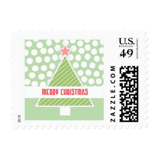 Have a Modern Merry Christmas Stamp