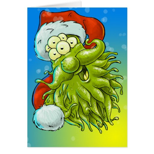 Have a monster Christmas Greeting Card